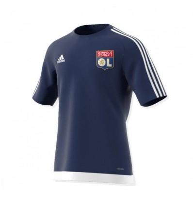 Maillot OL Adidas Bleu
